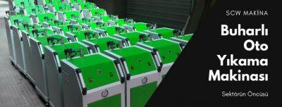 Endüstriyel buharlı temizlik - Scw Makina